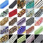 """Natural Gemstone loose Round beads 15"""" 4mm 6mm, 8mm, 10mm, 12mm pick your color"""