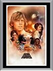 Star Wars Art A1 To A4 Size Poster Prints $24.6 AUD