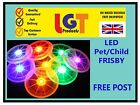 Flying LED Light Up Frisbee Outdoor Multi Color Toys Pet Children Fun Frisby UK
