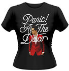 Panic! At The Disco 'BRENDON URIE' Donna T-shirt ADERENTE - NUOVO E ORIGINALE