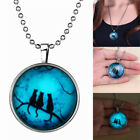 Punk Style Luminous Lighting Necklace Halloween Jewelry Civet Smile Face Shape