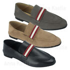 AnnaKastle Womens Foldable Heel Comfort Striped Loafer Flats Driving Shoes
