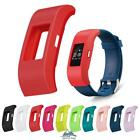 Silicone Shockproof Sleeve Screen Protect Case Cover For Fitbit Charge2 Watch