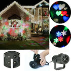 Christmas Outdoor Moving LED Laser Light Projector Landscape Xmas Garden Lamp