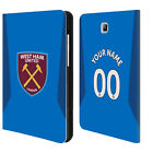 CUSTOM WEST HAM UNITED FC 2017/18 PLAYERS KIT LEATHER BOOK CASE SAMSUNG TABLET