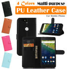 Google Nexus 6P Huawei Leather Case PSC Cover Skin Wallet Card Pouch Stand Folio