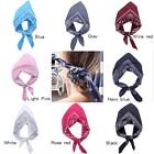 Women Men Cotton Paisley Bandanas head wrap scarf wristband Headwear Hair Band