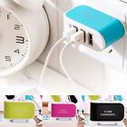 3-Port USB Wall Home Travel AC Power Charger Adapter 3.1A For iPhone Samsung