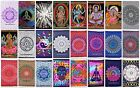 Indian Mandala tapestry hippie Hippy Cotton wall hanging Bohemian dorm decor 3D