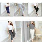 Pregnant Women Abdominal Maternity Pants Belly Leggings Pregnancy Trousers