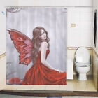 Shower curtain custom made design printing brightent Woman XQ651