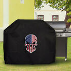 Waterproof Barbecue Cover Universal American Flag Skull eagle pic6 BBQ