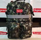 Supreme Backpack Bag Box Logo School Fast Free US Shipping New REFLECTIVE CAMO