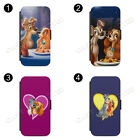 Lady And The Tramp  FLIP wallet PHONE CASE COVER fits IPHONE & SAMSUNG