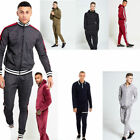 AARHON  MENS SKINNY FIT POUCH POCKET PULLOVER TRACKSUIT