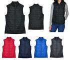 WOMEN'S INSULATED, WATER RESISTANT, PACKABLE, ZIP UP PUFFER VEST, POCKETS XS-3XL