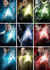 COMPLETE SET Of 9 Star Trek BEYOND 2016 A4 Character Posters - Gift - Present