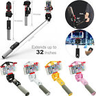 Mini Wireless Bluetooth 360° Rotation Rechargeable Extendable Self Selfie Stick