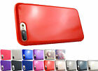 for Apple iPhone 8 Plus / 7 Plus TPU Satin Skin Gel Case Cover+Prytool