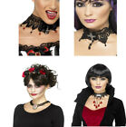 Ladies Halloween Choker Vampire Necklace