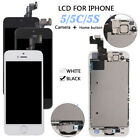 For iPhone 5 5s 5c 6 LCD Touch Screen Digitizer Replacement +Home Button &Camera