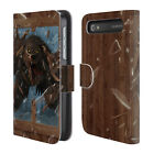OFFICIAL CHRISTOS KARAPANOS HORROR 3 LEATHER BOOK CASE FOR BLACKBERRY ONEPLUS