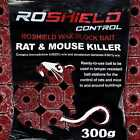 Roshield Bromadiolone Rodenticide Bait Blocks for Rat & Mouse Control - Various