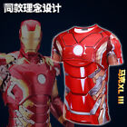 Avengers 2 T-shirt Men Short Sleeve Mark 43 Iron Man iron Man Cosplay