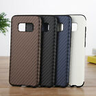 New Carbon Fiber Pattern Back Soft Rubber Case Cover For Samsung Galaxy S8+ Plus