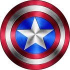 Captain America Shield Logo Comic Superhero Vinyl Decal Stic