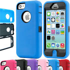 Heavy Duty Armour Shock Proof Builders Workman Case Cover For iPhone 8,7,5S,5,5C