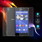 For Sony Xperia Front + Back New Clear Thin Tempered Glass Screen Protector Film