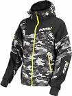 FXR Mens Grey Urban Camo/Hi-Vis Renegade Waterproof Softshell Jacket Outerwear