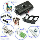 Underground Electric Dog Fence System Waterproof Shock Collars For 1-3Dogs
