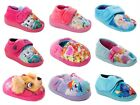 GIRLS OFFICIAL BRANDED CARTOON CHARACTER NOVELTY SLIPPERS INFANTS UK SIZE 5-12