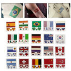 Flags Sexy Waterproof Temporary Fake Flash Tattoo Sticker Body Art For Woman Man
