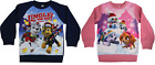 Paw Patrol Christmas Xmas Jumper Skye Marshall Chase Childrens Kids Sizes 2-5yo