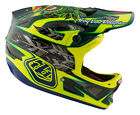 NEW 2017 TROY LEE DESIGNS D3 NIGHTFALL CARBON MTB HELMET W/MIPS GREEN ALL SIZES