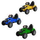 Kids Electric Car 12V Ride on Tractor Childs Battery Car Twin Motors John Deere