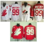 Wayne Gretzky 99 Team Canada Hockey Men Jersey Vintage Throwback STITCHED