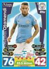 MANCHESTER CITY - TOPPS MATCH ATTAX 2017/18 - BUY 2 GET 4 FREE BUY 4 GET 10 FREE