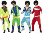 Men's 80's Retro Shell Suit Tracksuit Fancy Dress