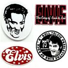Elvis Presley King Rock N' Roll patch embroidered sew iron on music appliques