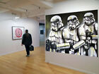 Original Street Art Star Wars Storm Troopers print canvas poster by  Andy Baker $299.0 AUD