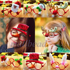 Christmas Ornaments Glasses Frames Decor Evening Party Toy kids Rabbit Xmas Gift