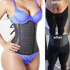 US Fajas Reductoras Colombianas Body Shaper LATEX Waist Trainer Corset Shapewear