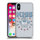 OFFICIAL KISS LOGO 3 HARD BACK CASE FOR APPLE iPHONE PHONES