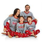 US STOCK NEW Family Match Christmas Adult Sleepwear Nightwear Pajamas Set