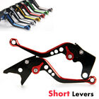 Short Edging colored Brake Clutch Levers For Honda CBR 900 RR 929cc 2000-2001