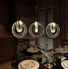 Crystal Ring Lampshade Chandelier Pendant Lamp Ceiling Lighting  Light Fixtures